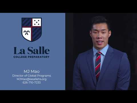 MJ Mao, Director of Global Programs, La Salle College Preparatory