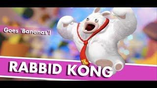 Mario + Rabbids Kingdom Battle Gameplay: World 1-9: Rabbid Kong Boss Fight