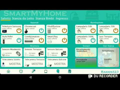 Applicazione Android Home Assistant