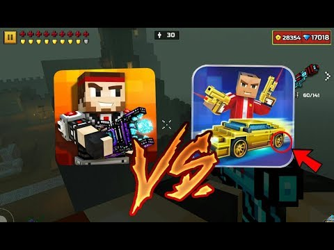 Block City Wars + Skins Export [6.6.4] Vs. Pixel Gun 3D [12.5.0]