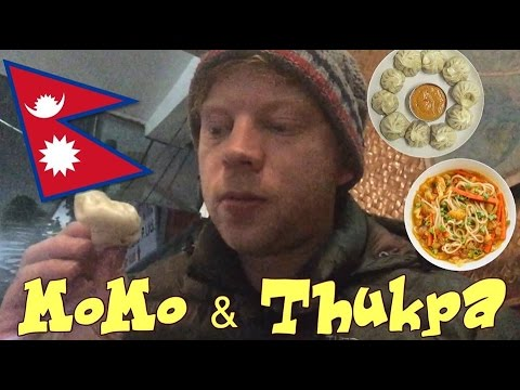 TASTING LOCAL FOOD IN NEPAL