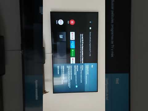 Configuración Wifi smart tv Sony