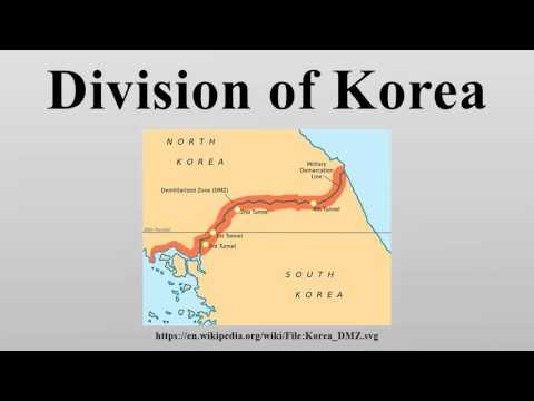 Division of Korea