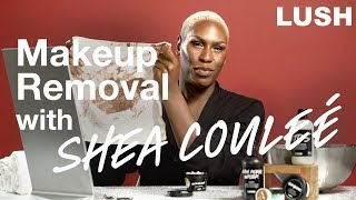 How Drag Superstar Shea Couleé removes a full face of makeup thumbnail
