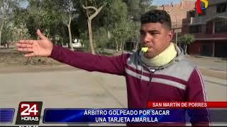 Árbitro agredido en partido de fútsal pide apoyo a las autoridades