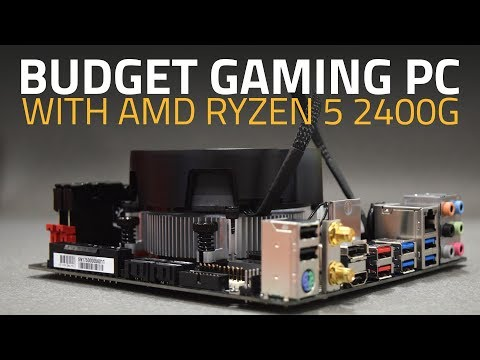 AMD Ryzen 5 2400G Gaming Review | Full-HD PC Gaming on a Budget