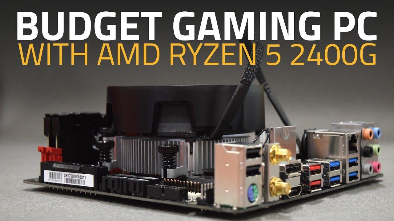 AMD Ryzen 3 2200G, Ryzen 5 2400G, and Gigabyte AB350N-Gaming