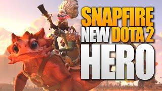 Dota 2 Snapfire - New Hero TI9 The International 9