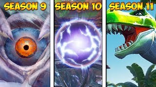 Fortnite SEASON 11 vs SEASON X vs SEASON 9 (LEAKED)!