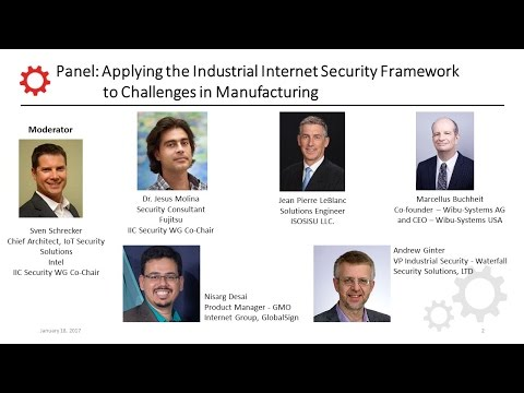 Smart Factory Forum - Securing the Smart Factory (Panel Session)