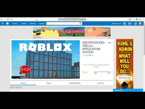 How To Make An Application Center On Roblox Without Trello Roblox Studio How To Make An Application Center Trello Easy And Freee Youtube