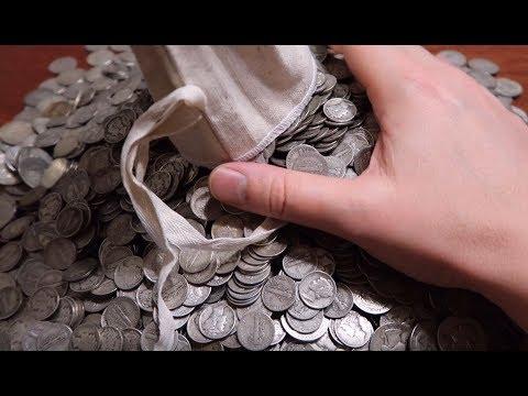 Unboxing 434 oz's of Silver! 1,600 Quarters & 2,000 Mercury Dimes!