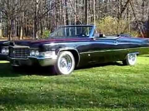 1969 Cadillac Coupe DeVille Convertible - YouTube