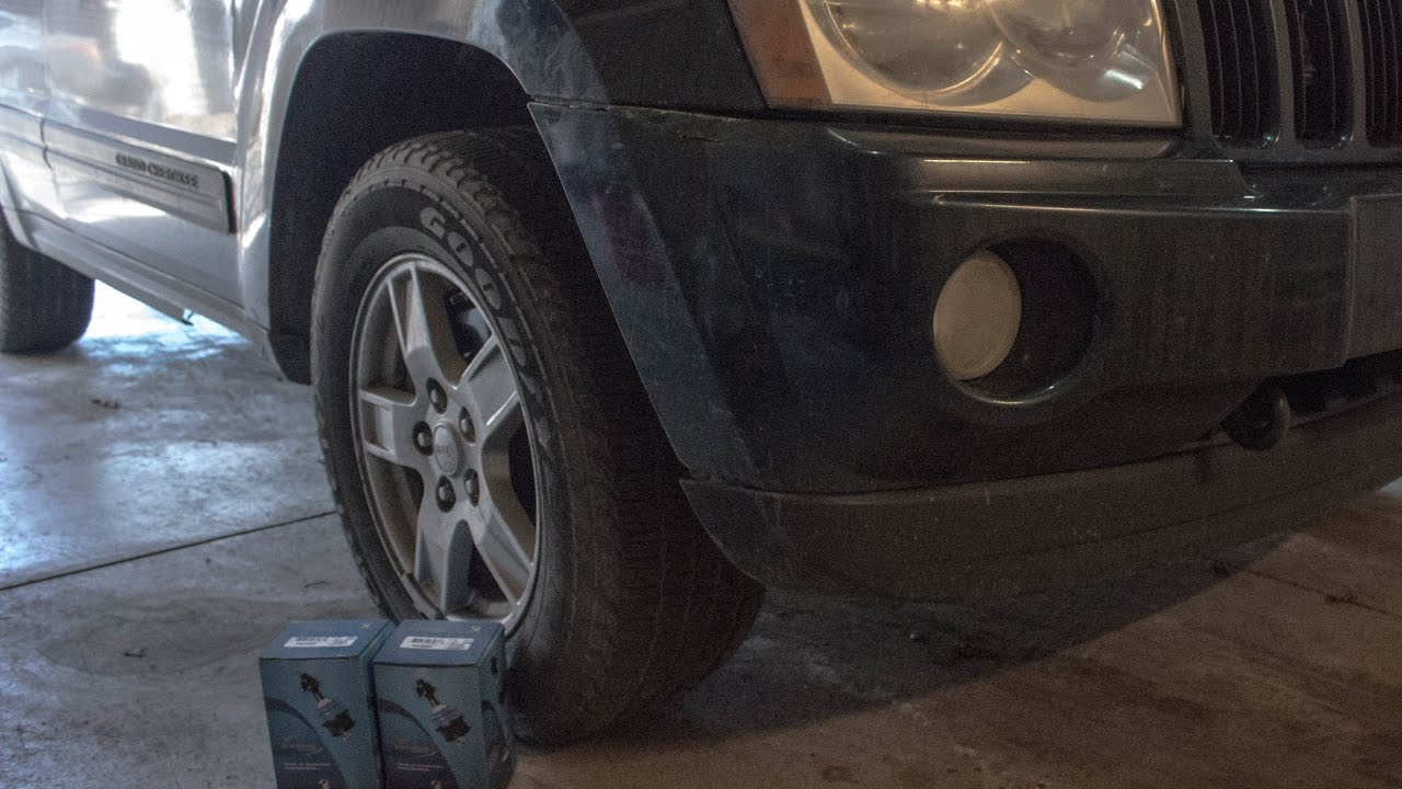 2005 2015 jeep grand cherokee tie rod end replacement