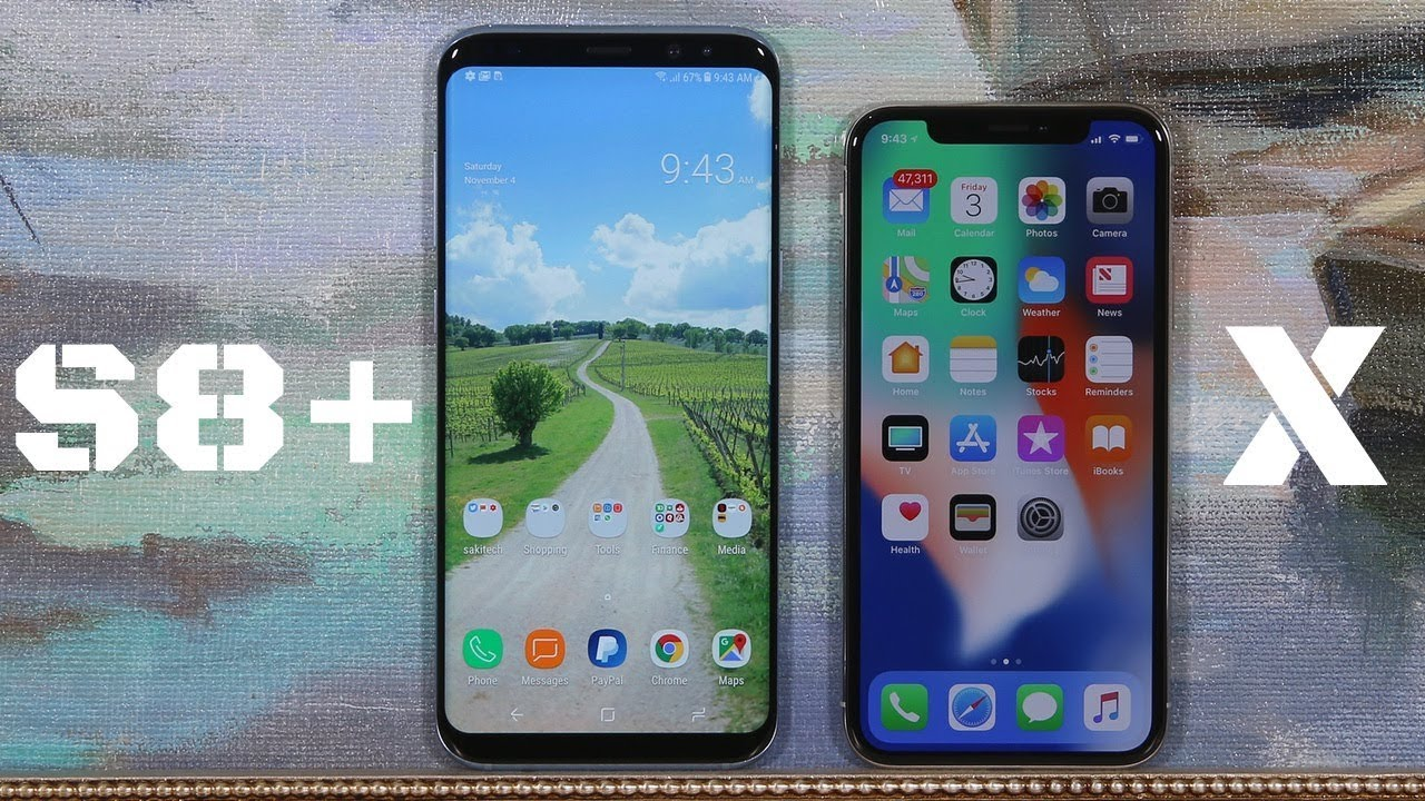 Comparison Of Iphone  And X