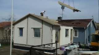 Montering av tillbyggnad i Tallkrogen-Stockholm(, 2012-04-15T11:37:08.000Z)
