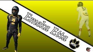 Emeka Etta || The Underdog|| NFL 2018 Draft Class