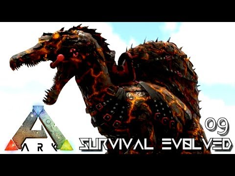 ARK: SURVIVAL EVOLVED - NEW EPIC SPINOSAUR & BEELZEBUFO TAME