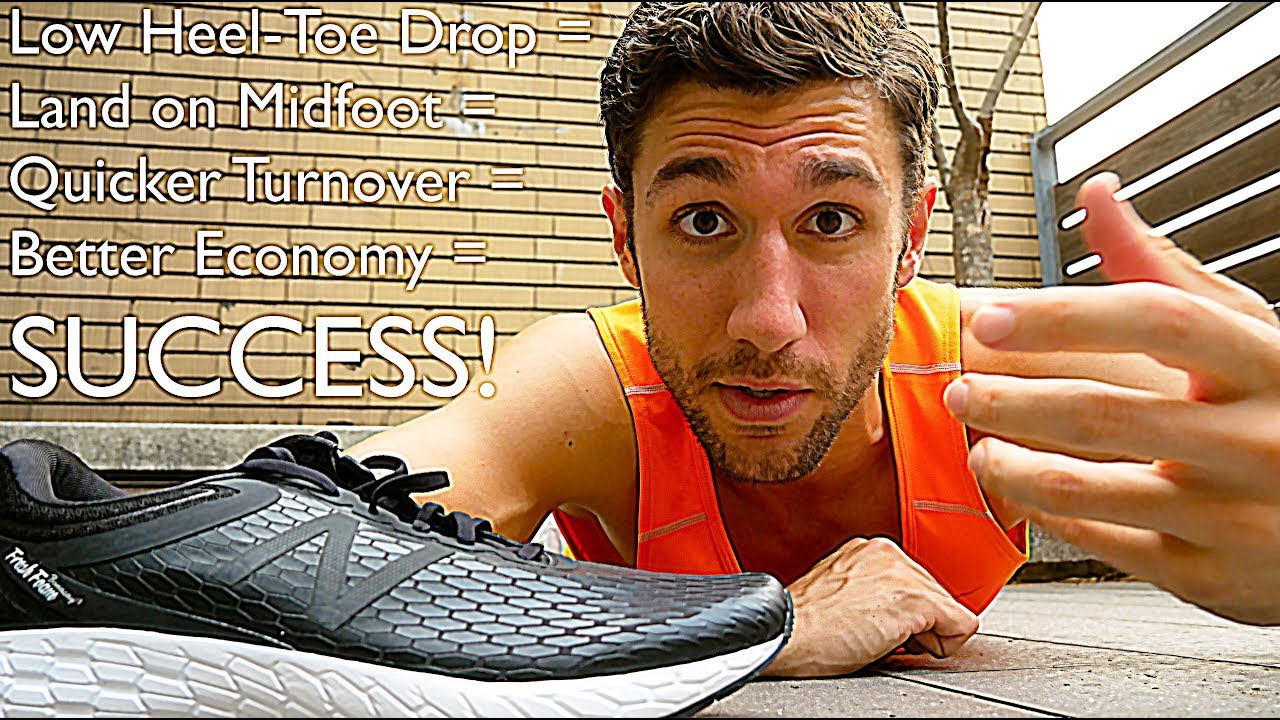 Running Shoe Heel Drop Effects On Performance Injury Prevention Youtube