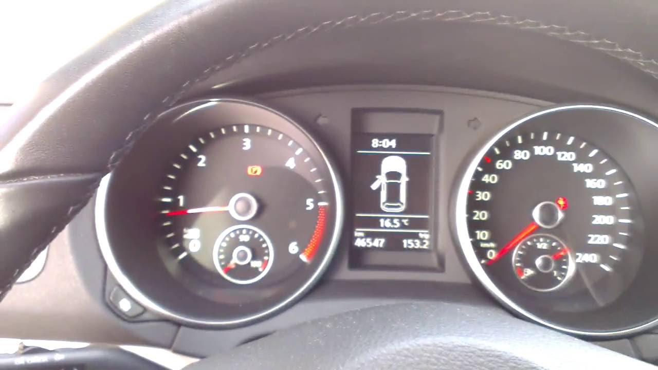VW golf vi 1,6tdi injector problem