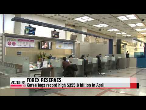 S. Korea's foreign currency reserves rise to new high