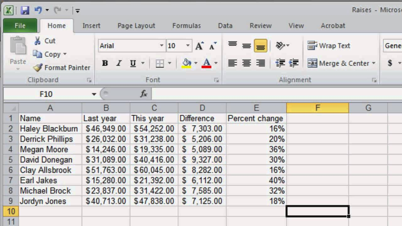 Creating a budget spreadsheet in excel 2013