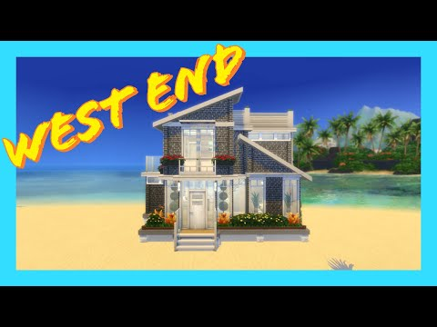 The Sims 4 Island Living - Speed Build - West End
