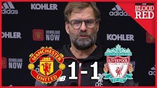 Jurgen Klopp Post-Match Press Conference   Man Utd 1 - 1 Liverpool
