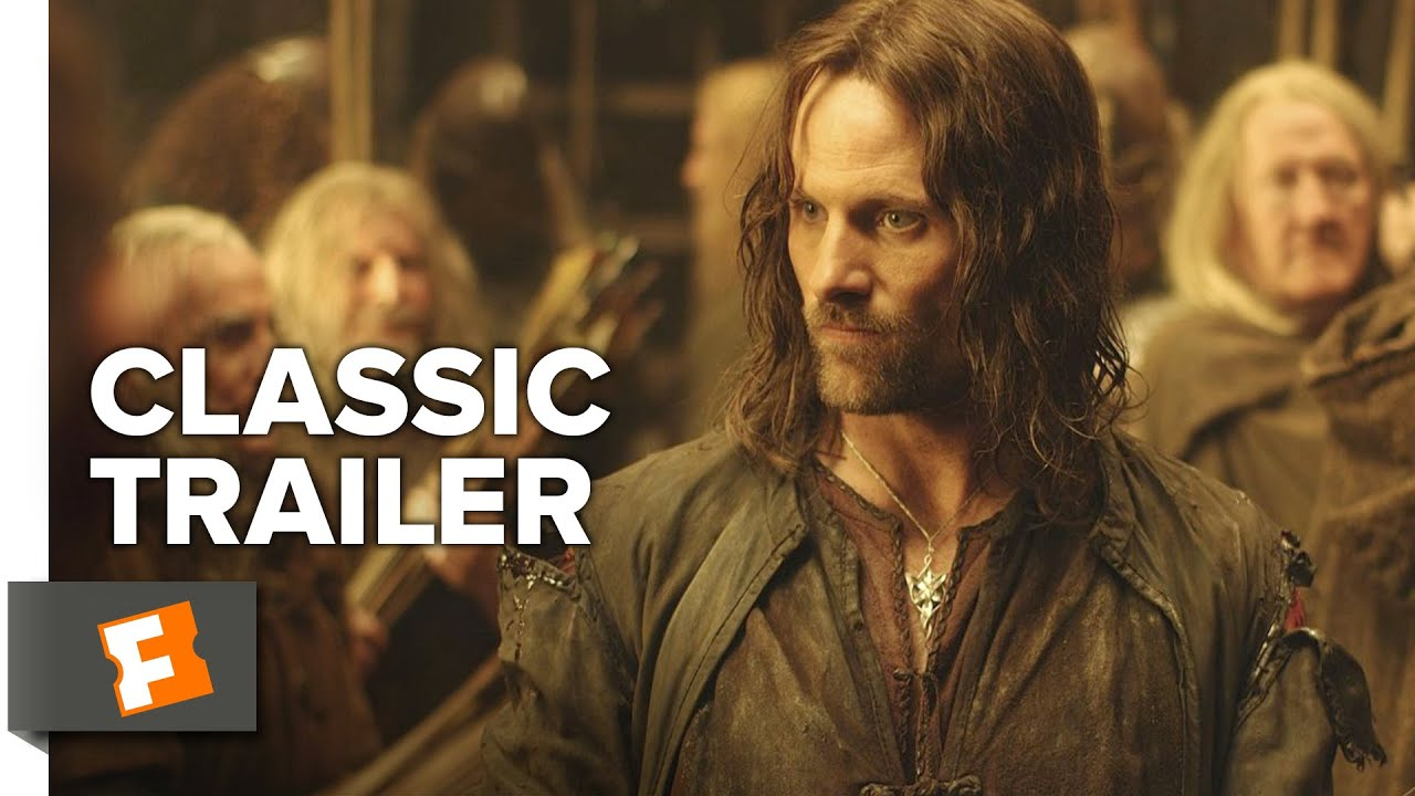 Download The Lord of the Rings: The Two Towers (2002) Official Trailer #1 - Viggo Mortensen Movie HD