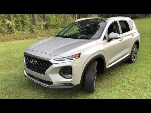 Best Detailed Walkaround 2019 Hyundai Santa Fe Ultimate 2.0T AWD