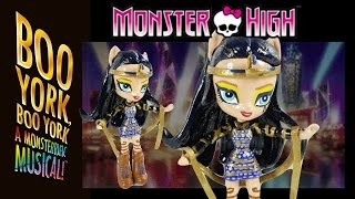 Monster High Cleo De Nile Boo York Boo York with MLP Equestria Girls Mini Tutorial