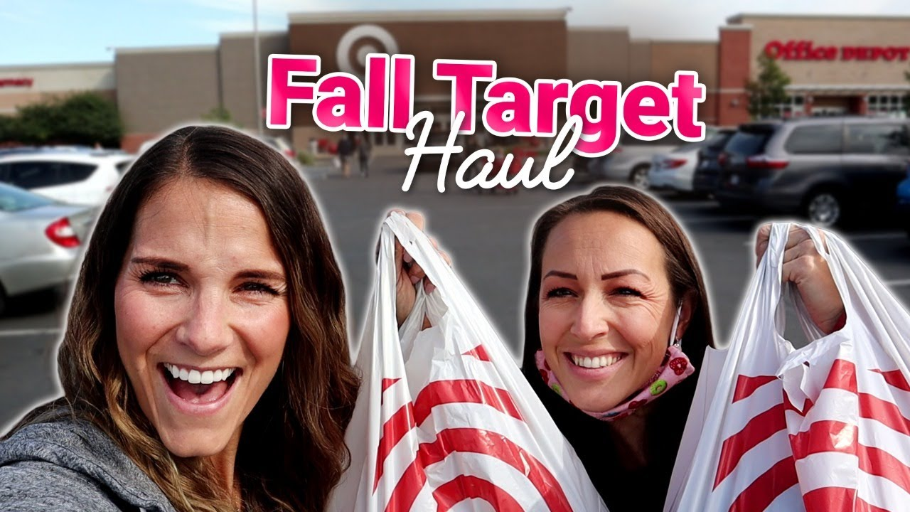 FALL TARGET HAUL | SHOP WITH ME | CLOTHES, DECOR & HOME ORGANIZATION