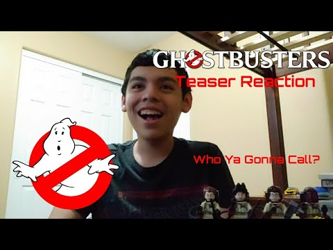 Ghostbusters (2020) Teaser Trailer Reaction