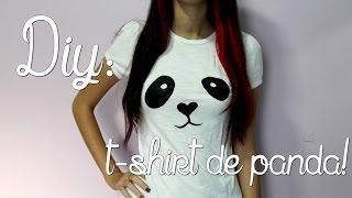 VEDA #28 | DIY t-shirt de panda!