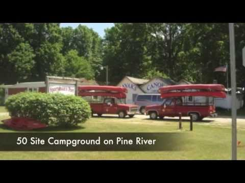 Canoe Livery And Campground For Sale In NW Michigan On 40 Beautfiful Acres 4