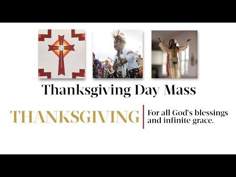 Catholic Mass on Thanksgiving Day