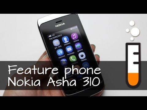 Asha 310 Nokia Feature Phone - Resenha Brasil