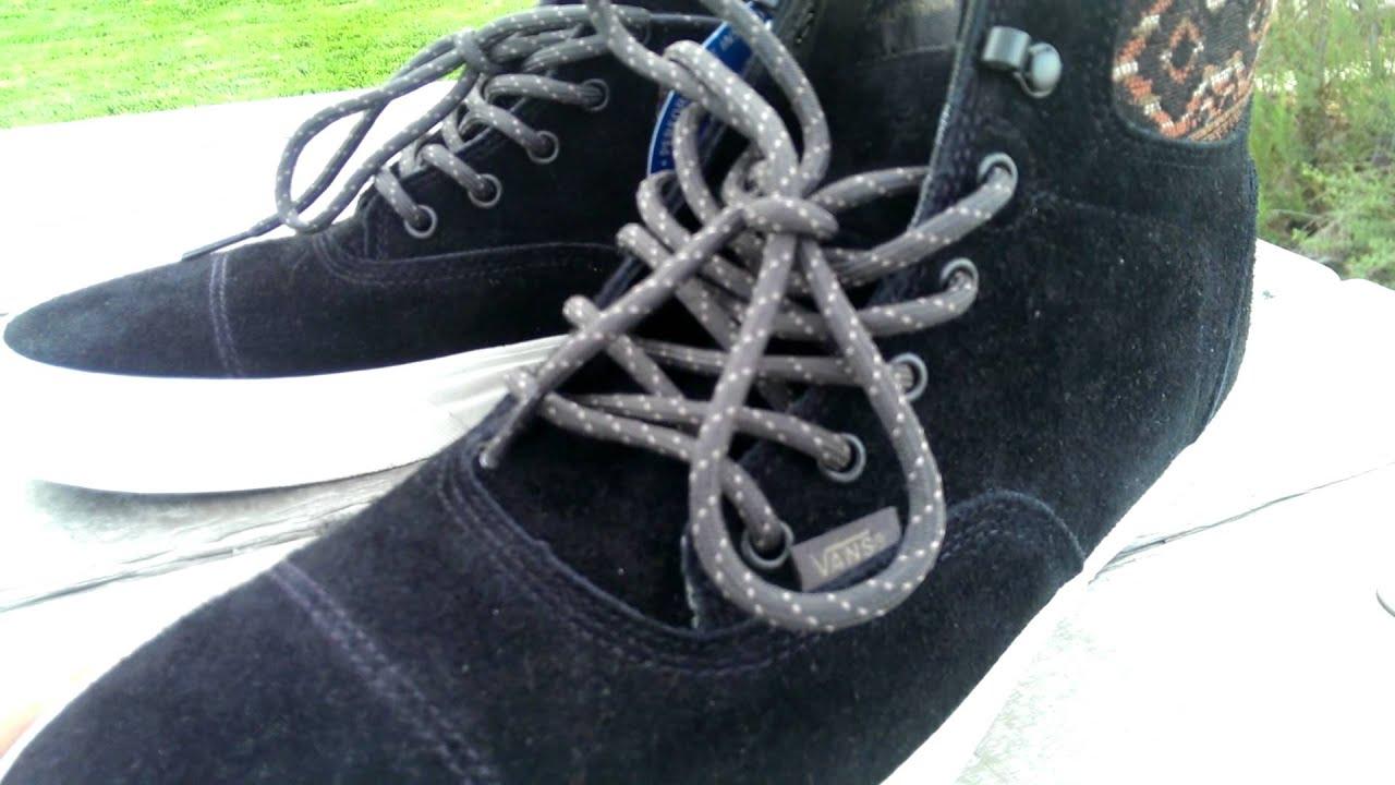 28949117d3 Shoe Review  Vans California  Hiker  Era Hi (Black Inca) - YouTube
