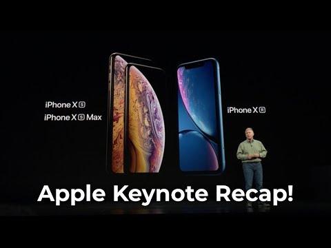 Apple Keynote Recap! (iPhone XS, XR, Apple Watch!)