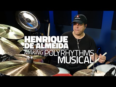 Henrique De Almeida - Making Polyrhythms Musical - Drum Lesson (DRUMEO) Mp3
