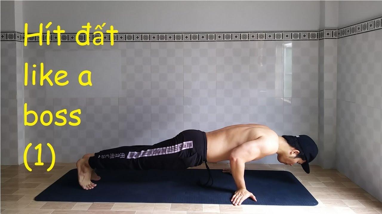 Tập Workout Không Cần Dụng Cụ - Tập Cơ Ngực Tối Ưu Bằng Cách Hít Đất Tại Nhà (01)