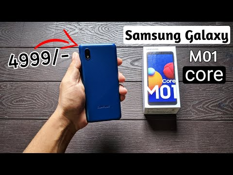Samsung Galaxy M01 Core Unboxing & Honest Review