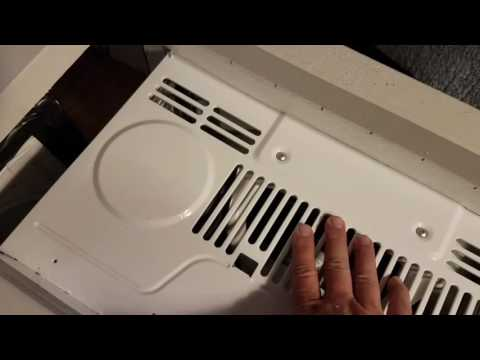 Installing AC unit in a vintage travel trailer.