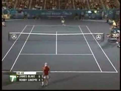 Robby Ginepri, 21.02.2008, Mercedes-Benz Play of The Week