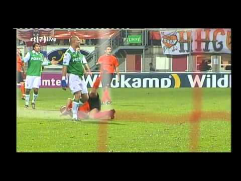 HHC Hardenberg Feyenoord Rotterdam eerste helft