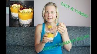 Fruity Chia Yoghurt | SOS Free | Dairy-Free | Vegan | Easy Recipe