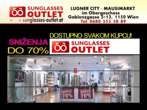 Sunglasses Outlet - Lugner City - Mausi Markt