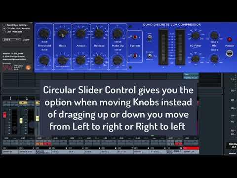 Vertigo Sound VSC 3 (Side Menu options) Its a video made with no sound, its a visual explanation.
