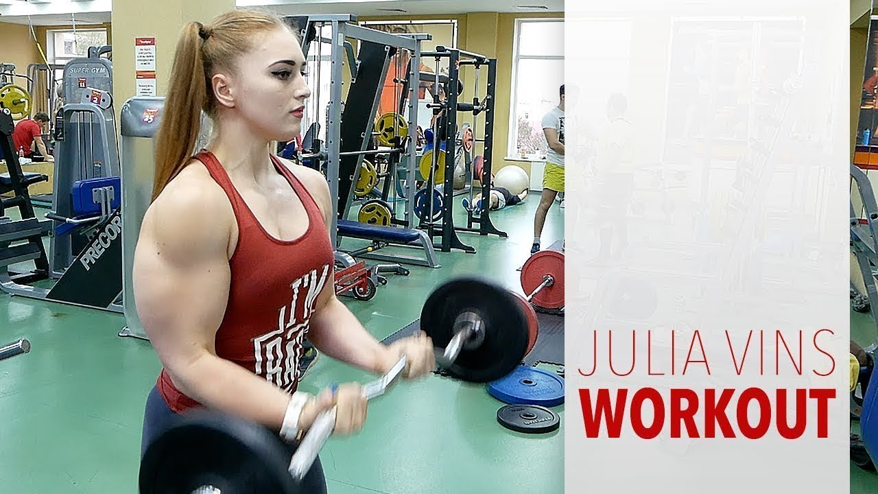 Julia Vins Bench Press