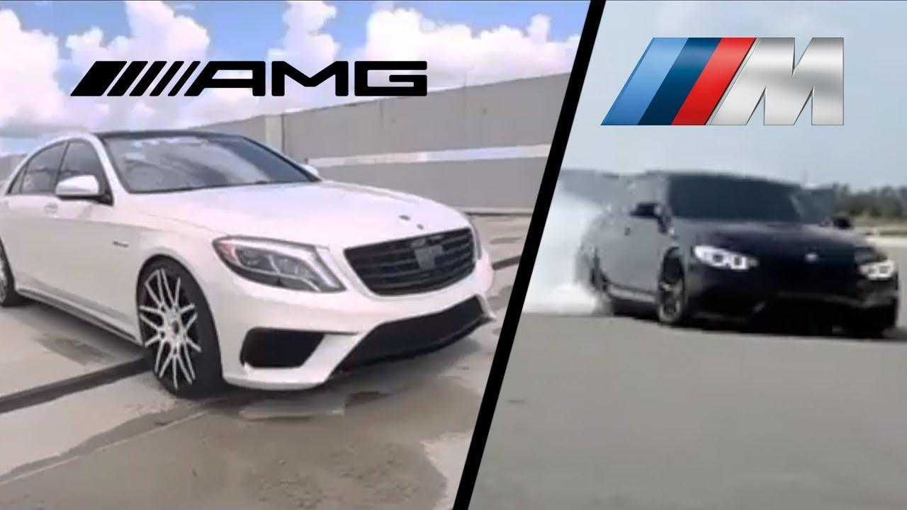 Bmw M Vs Mercedes Amg кто кого Youtube